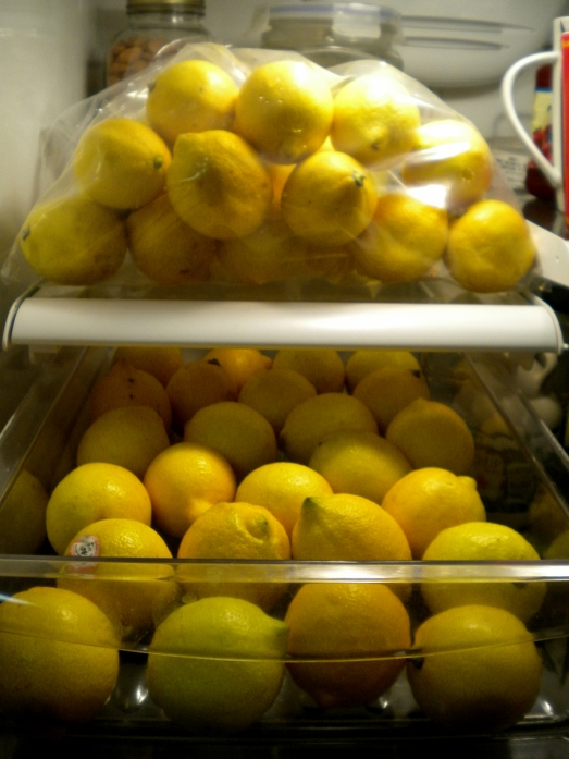 Thank you, Jesus, for letting me pass lemons