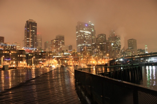 And if Leonie can frolic in a field, I can sure as heck frolic in fog-covered Seattle. (IN A PENTHOUSE, AT THAT!)