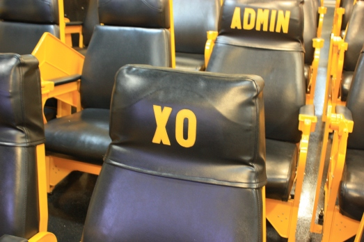 From now on, consider this your seat: XO, self. I love you already.